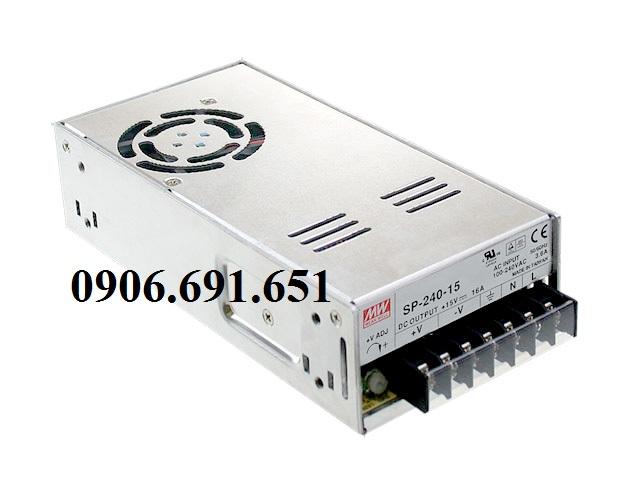 Nguồn Meanwell SP-240-5, bộ nguồn 225W 5V 45A